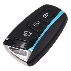 Hyundai 3 gombos kulcsház