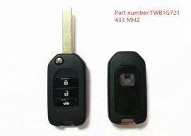 Honda : CR-V Civic Accord - 3 gombos 433 mhz ID47