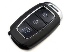 GYÁRI Hyundai : Kona - 3 gombos 433 mhz ID52 SZABADKEZES / KEYLESS GO