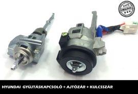 HYUNDAI zárszett + kulcsszár típus-5