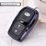 Toyota : Land Cruiser / Hilux / Camry / Fortuner - SMART - Kulcsvédő Tok Fekete