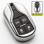 Maserati : Quattroporte / Ghibli - SMART - Kulcsvédő Tok EZÜST