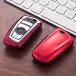 BMW : F Széria - Smart - Kulcsvédő Tok PIROS