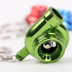 Neon Zöld Turbo kulcstartó