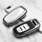 Audi :  Smart - Kulcsvédő Tok EZÜST