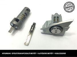 HYUNDAI zárszett + kulcsszár típus-3
