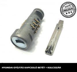 HYUNDAI gyújtáskapcsoló betét + kulcsszár típus-1