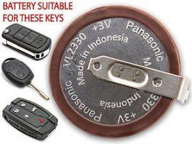 tölthető elem/akkumulátor PANASONIC +3V  L2330