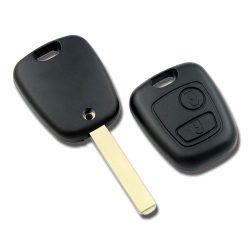 Toyota 2 gombos kulcsház (AYGO)