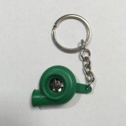Zöld TURBO kulcstartó