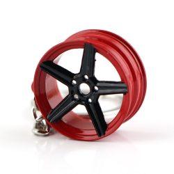 Felni Piros-Fekete kulcstartó