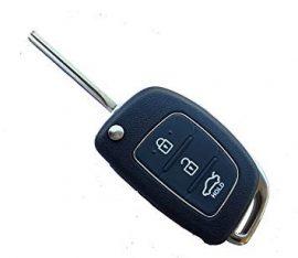 Hyundai : IX35 - 3 gombos 433 mhz ID46 _ KIA7