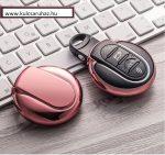 Mini : Cooper / Clubman / Hatch - SMART - Kulcsvédő Tok RÓZSASZÍN / PINK