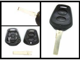 Porsche 2 gombos kulcsház