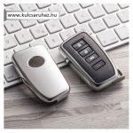 Lexus : NX / IS / ES / GS / GX / RC / RX / LS / LX - SMART - Kulcsvédő Tok EZÜST