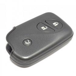 Lexus 3 gombos kulcsház