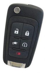 Chevrolet : Volt - 4 + 1 gomb 315 mhz ID46 _ HU100