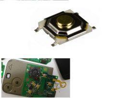 Lapos 4 érintkezős mikrokapcsoló