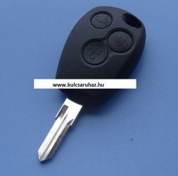 Dacia 3 gombos kulcsház