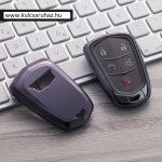 Cadillac : ATS / CTS / XTS / Escalade - SMART - Kulcsvédő Tok FEKETE