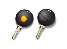 Smart Fortwo kulcsház 1 gombos